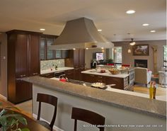 Gorgeous Family Kitchen Design Home And Garden Design Ideas