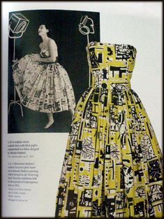 Horrockses Fashions: Off-the-peg Style in the and Textile Design, Fabric Design, Textile Patterns, 1950s Fashion, Vintage Fashion, Eduardo Paolozzi, Together Fashion, Black And White Fabric, Style