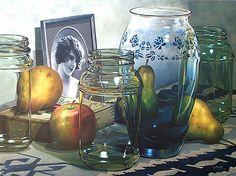 gary cody artist | Still Life With Portrait by Gary Cody