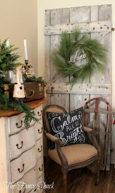 Favorite Blogger (Christmas Edition)....The Fancy Shack | anderson and grant