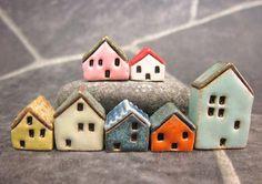 Candy-Häuser...Miniatur-Häuser für Moss Terrarien oder Topf-Garten