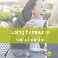 Using humour in social media #socialmedia #smm
