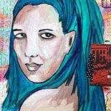 Art Journal Every Day Archive Julie Feb Fan Balzer, website