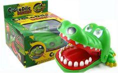 Free shipping novelty item big size magic crocodile dentist bite your finger at random/Halloween finger toy for children