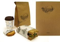 cumulus inc. melbourne | pd package design bag wrapper cup coffee take away food