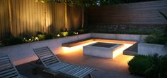gardening light ideas - entertaining