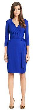 New Julian Two Jersey Wrap Dress In Tanzanite Blue on shopstyle.com