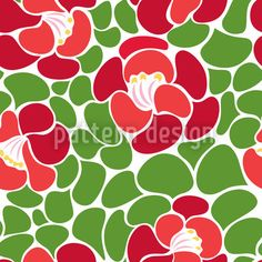 Spring Petals by Yenty Jap available for download as a vector file on patterndesigns.com