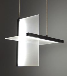 pendant lamp contemporary planar 2d
