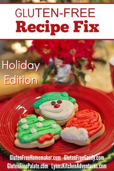 Our holiday themed gluten-free recipe fix is your one-stop shopping place for all kinds of recipes that you can use in December.