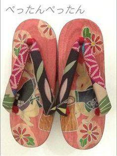 Geta Japanese Socks, Japanese Kimono, Japanese Art, Japanese Style, Japanese Outfits, Japanese Fashion, Geisha, Yukata Kimono, Cheap Vinyl