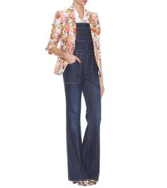 Stella Mccartney Denim Overalls
