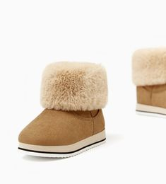 WINTER BOOTS-SHOES-BABY GIRL | 3 months - 4 years-KIDS | ZARA United States