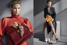 Wir haben uns total in die neue Fall/Winter 2016 Kampagne von Dior und Jennifer…