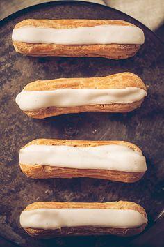 Éclairs combava et vanille – Crokmou