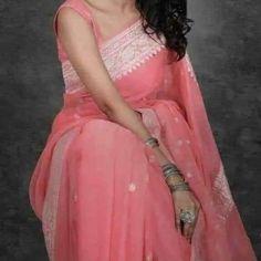 Pure Georgette Sarees, Chiffon Saree, Banarasi Sarees, Cotton Saree, Silk Sarees, Indian Sarees, Lehenga, Elegant Fashion Wear, Elegant Saree