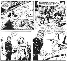 Ken Parker - Epäluotettava kaveri. #sarjakuva #sarjis #egmont