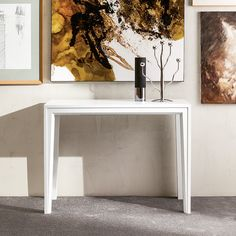 The Voile transforms from a 19 inch console to a full sized dining table, functional in multiple environments and good for any occasion.