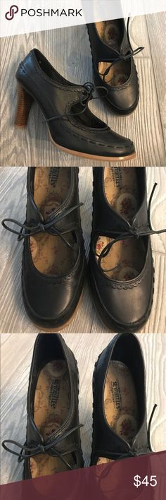 Seychelles Black Leather Mary Jane Heels Size 8 Seychelles Black Leather Mary Jane Heels Size 8 / 38 EU. Excellent condition! Seychelles Shoes Heels