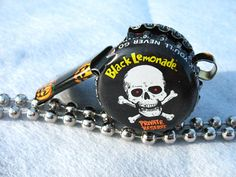 Whistle Halloween Skull by BottleCapWhistles on Etsy, $16.00