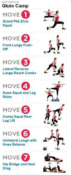 Butt workout yo!