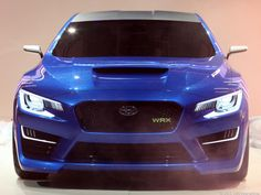 Subaru WRX concept makes world debut in New York (pictures) - CNET Reviews via @CNET