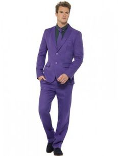 Mens Stand Out Suits Stag Do Party New Comedy Funny Fancy Dress Costume Outfit Stag Fancy Dress, Funny Fancy Dress, Suit With Jacket, Man Jacket, Blazer Jacket, Purple Suits, Thing 1, Purple Jacket, Costume Dress
