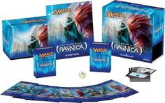 magic the gathering return to ravnica fatpack con 9 boosters