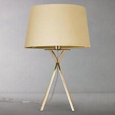 Buy John Lewis Wilfred Tripod Table Lamp Online at johnlewis.com