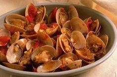 Almejas a la antigua, Receta Petitchef Stuffed Mushrooms, Vegetables, Parsley, Garlic, Onion, Clams, Cooking Recipes, Dishes, Stuff Mushrooms