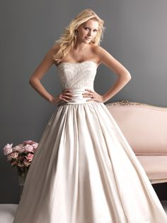 COMING SOON SPRING 2013 ALLURE ROMANCE 2618 Champagne/Silver Size 14