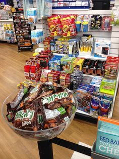 Bed Bath and Beyond sells Milky Way candy bars at checkout. We think they should stick to kitchen gadgets instead. (Bed Bath and Beyond, Washington, DC, 7/14)