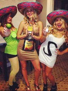 3 Tequila | Kostüm-Ideen für Gruppen zu Karneval Halloween Fasching