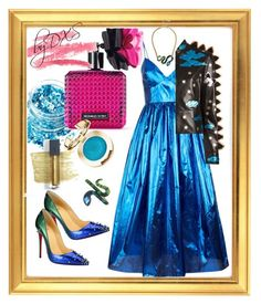 """""""Play byDXS"""" by danielxs on Polyvore featuring In Your Dreams, Victoria's Secret, Christian Louboutin, Malene Oddershede Bach, Valentino, Betsey Johnson and Bite"""
