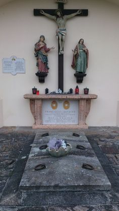 Grave of Marie Valerie and her husband