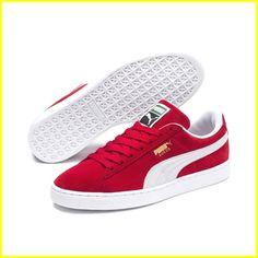 promo code 8eeb5 9b878 Beautiful Sneakers You Can Wear To Work  sneakerrunning Red Puma Suede, Puma  Suede Shoes