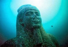 Head of a Colossal Statue