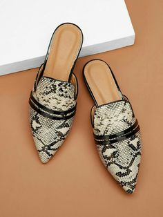 9 West Women S Shoes Refferal: 9256066464 Shoe Boots, Shoes Sandals, Flat Mules, Studded Heels, Pointed Toe Flats, Snake Skin, Me Too Shoes, Fashion Shoes, Espadrilles