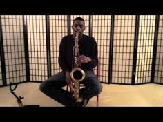 Jazz Saxophone Tip: Playing Gliss  This is a good lesson in embellishments, informative for any musician.