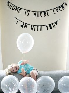 Little banner black Contemporary Childrens Furniture, Modern Kids Furniture, Cricut Banner, Diy Banner, Banner Ideas, Word Light Box, A Little Lovely Company, Diy Letters, Home Quotes And Sayings