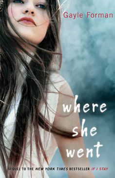 Where She Went (If I Stay, #2) - Told from the male perspective, this book will make you want to crawl in a hole and just give up on life as you remember all the times you had to say goodbye forever or give up a dream or even leave someone you love behind. But in a good way! Definitely a must read.
