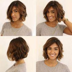 hottest short hairstyles for women 2019 21 – Frauen Haare Haircut For Thick Hair, Short Wavy Hair, Short Hair With Layers, Short Haircut, Layered Hair, Short Hairstyles For Women, Haircut Medium, Pretty Hairstyles, Medium Hair Cuts