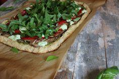 Vegan Cauliflower Crust Pizza   Modest Wanderer & Co.