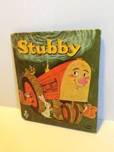 Stubby small Whitman Tell-a-Tales Children's book  on Etsy, $2.75