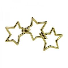 Pre-owned Tiffany & Co. 18K Yellow Gold Three Star Morning Star Pin... (37,410 INR) ❤ liked on Polyvore featuring jewelry, brooches, vintage broach, yellow gold jewelry, gold jewelry, 18 karat gold jewelry and vintage pins brooches