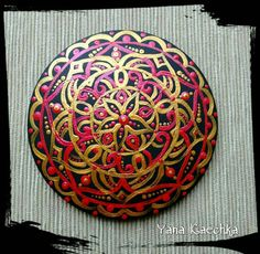 Check out this item in my Etsy shop https://www.etsy.com/listing/492100983/hand-painted-wooden-mandala-magnet