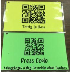 How to Streamline Behavior Documentation in a Middle School Classroom - Technology Middle School Classroom, New Classroom, Middle School Science, Classroom Ideas, Google Classroom, Classroom Tools, Middle School Incentives, Middle School Decor, Middle School Behavior