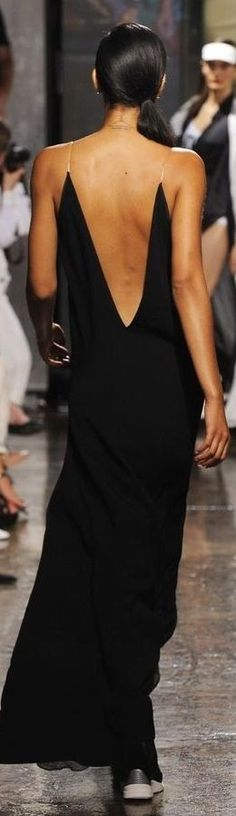 Gotta reference Rory's backless gown in SUPERSTAR, though the only thing it has in common with this gown is the back