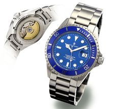 Steinhart OCEAN One Premium Blue.  Or for $660, you can have a real dive watch, with a beautiful swiss movement, sapphire, 300m.
