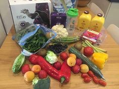 Eating healthy Clean 9 forever living